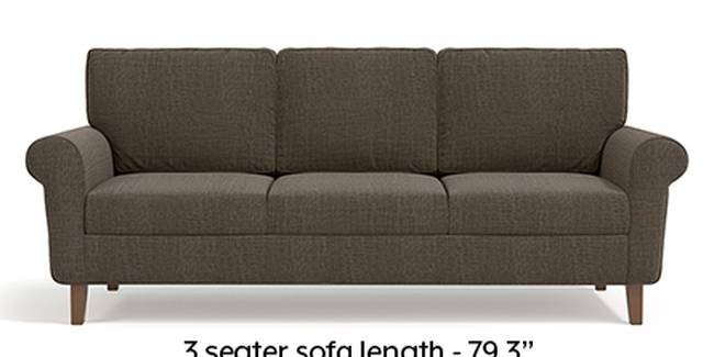 Oxford Sofa (Fabric Sofa Material, Regular Sofa Size, Soft Cushion Type, Regular Sofa Type, Master Sofa Component, Pine Brown)