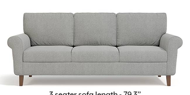 Oxford Sofa (Fabric Sofa Material, Regular Sofa Size, Soft Cushion Type, Regular Sofa Type, Master Sofa Component, Vapour Grey)