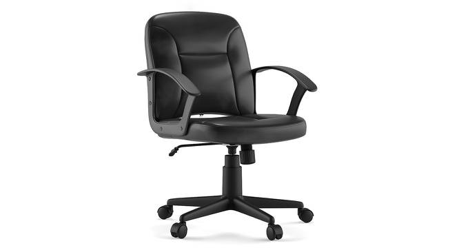 Barry Study Chair (Black) by Urban Ladder