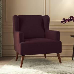 Brando Arm Chair (Grape) by Urban Ladder