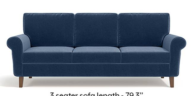 Oxford Sofa (Fabric Sofa Material, Regular Sofa Size, Soft Cushion Type, Regular Sofa Type, Master Sofa Component, Lapis Blue)
