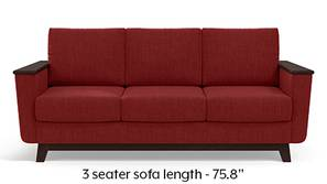 Corby Sofa (Salsa Red)