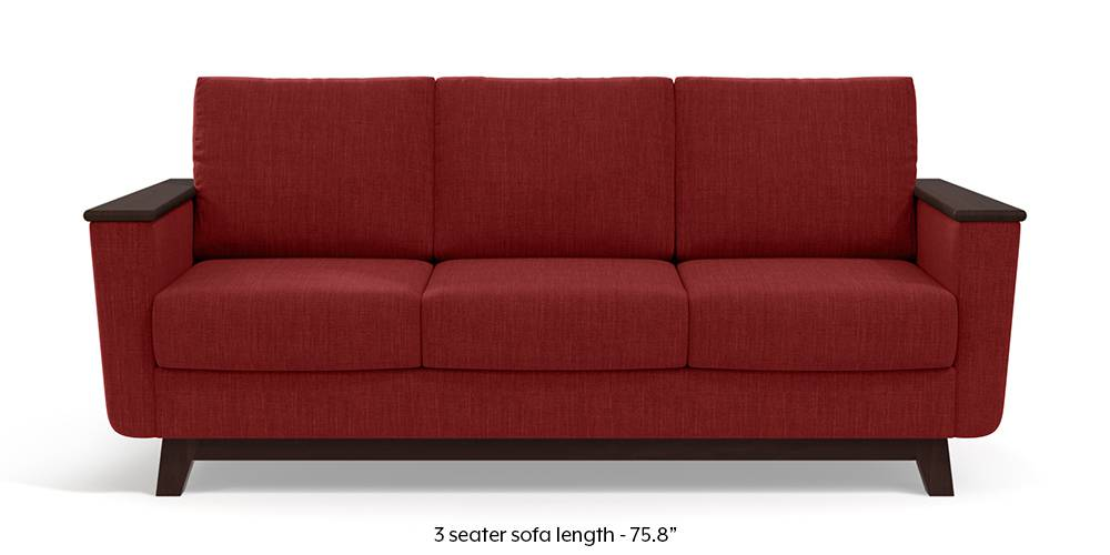 Corby Sofa (Salsa Red) by Urban Ladder