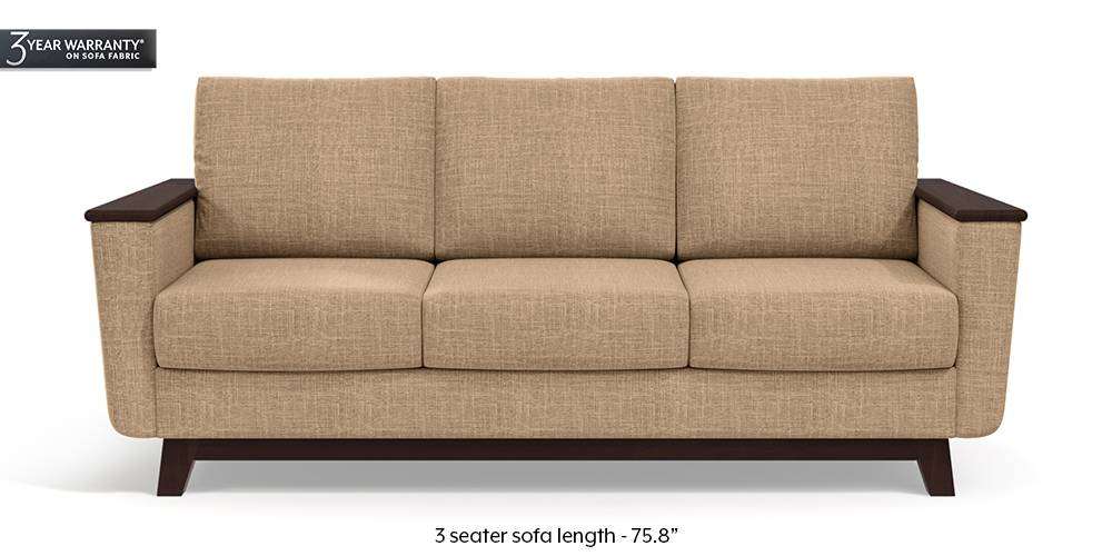 Corby Sofa (Sandshell Beige) by Urban Ladder