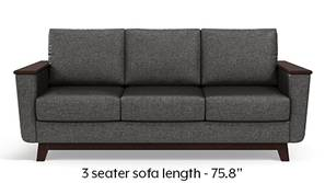Corby Sofa (Steel Grey)