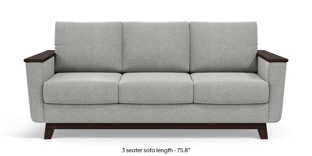 Corby Sofa (Vapour Grey) by Urban Ladder