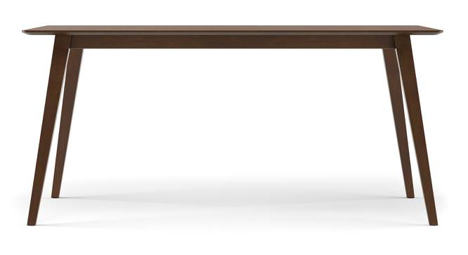 Lawson 6 Seater Dining Table (Walnut Finish) by Urban Ladder