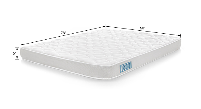 Aer Latex Mattress (Queen Mattress Type, 78 x 60 in (Standard) Mattress Size, 6 in Mattress Thickness (in Inches)) by Urban Ladder