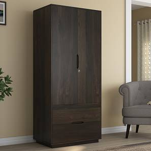 Zephyr Wardrobe (American Walnut Finish) by Urban Ladder