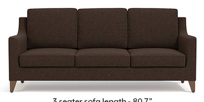Abbey Sofa (Mocha, Fabric Sofa Material, Regular Sofa Size, Soft Cushion Type, Regular Sofa Type, Master Sofa Component)