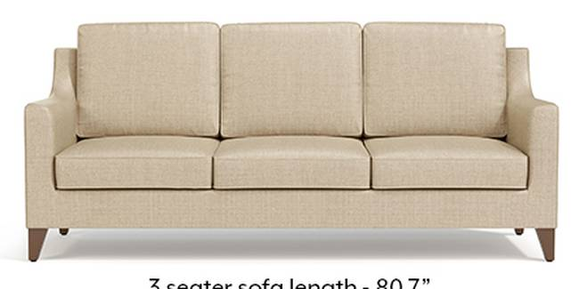 Abbey Sofa (Pearl, Fabric Sofa Material, Regular Sofa Size, Soft Cushion Type, Regular Sofa Type, Master Sofa Component)