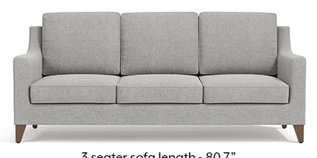 Abbey Sofa (Fabric Sofa Material, Regular Sofa Size, Soft Cushion Type, Regular Sofa Type, Master Sofa Component, Vapour Grey)