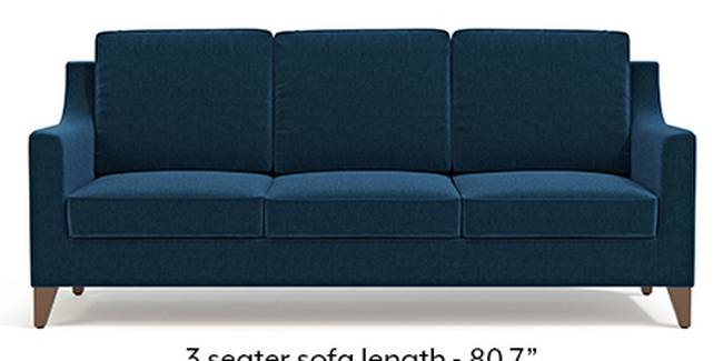Abbey Sofa (Cobalt, Fabric Sofa Material, Regular Sofa Size, Soft Cushion Type, Regular Sofa Type, Master Sofa Component)