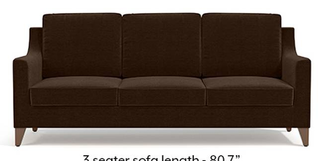 Abbey Sofa (Dark Earth, Fabric Sofa Material, Regular Sofa Size, Soft Cushion Type, Regular Sofa Type, Master Sofa Component)