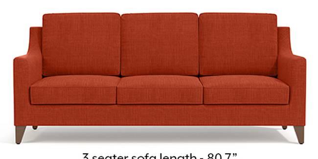 Abbey Sofa (Lava, Fabric Sofa Material, Regular Sofa Size, Soft Cushion Type, Regular Sofa Type, Master Sofa Component)
