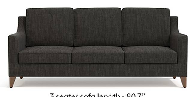 Abbey Sofa (Fabric Sofa Material, Regular Sofa Size, Soft Cushion Type, Regular Sofa Type, Master Sofa Component, Graphite Grey)