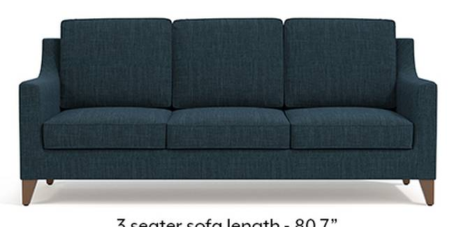 Abbey Sofa (Indigo Blue, Fabric Sofa Material, Regular Sofa Size, Soft Cushion Type, Regular Sofa Type, Master Sofa Component)