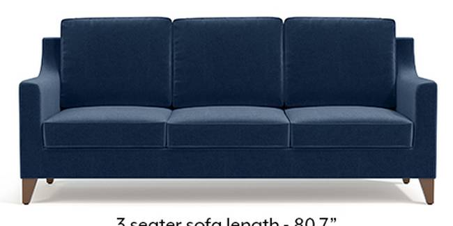 Abbey Sofa (Fabric Sofa Material, Regular Sofa Size, Soft Cushion Type, Regular Sofa Type, Master Sofa Component, Lapis Blue)