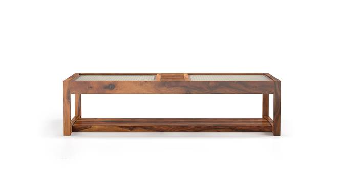 Fujiwara Coffee Table (Teak Finish) by Urban Ladder