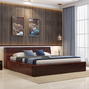 Anafi Box Storage Bed (Two-Tone Finish, King Bed Size, Box Storage Type) by Urban Ladder