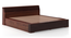 Sentosa Box Storage Bed (Two-Tone Finish, King Bed Size, Box Storage Type) by Urban Ladder