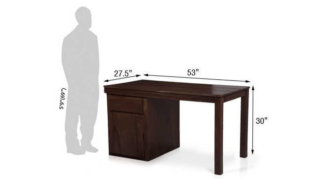 Bradbery desk clibre black 17  bradbury desk mahogany finish 11 mg 9999 76 m dimension