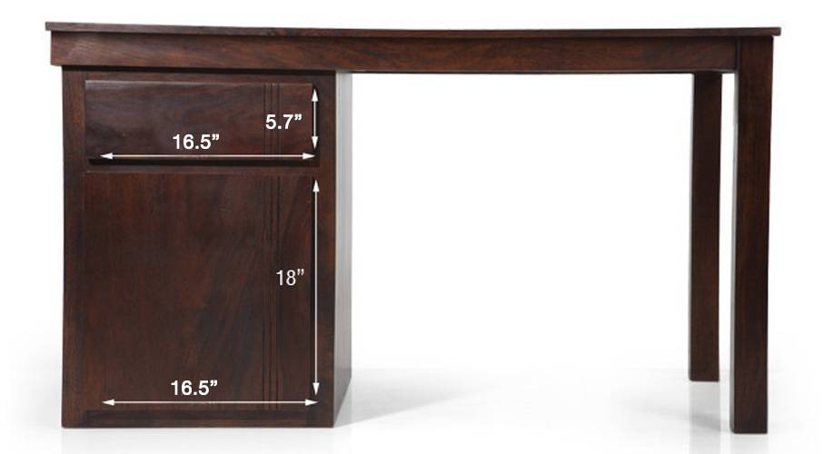Bradbury desk mahogany finish