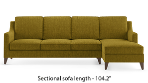 Abbey Sectional Sofa (Olive Green)