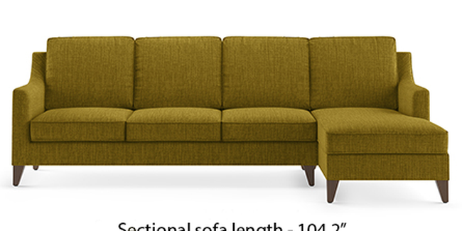 Abbey Sofa (Olive, Fabric Sofa Material, Regular Sofa Size, Soft Cushion Type, Sectional Sofa Type, Sectional Master Sofa Component)