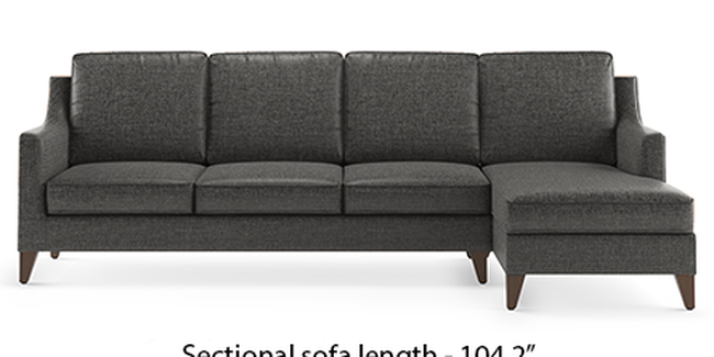 Abbey Sofa (Steel, Fabric Sofa Material, Regular Sofa Size, Soft Cushion Type, Sectional Sofa Type, Sectional Master Sofa Component)