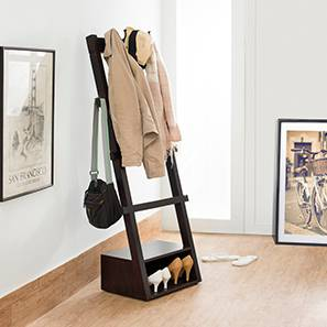 Alfred Coat Rack (Mahogany Finish) by Urban Ladder - - 2784