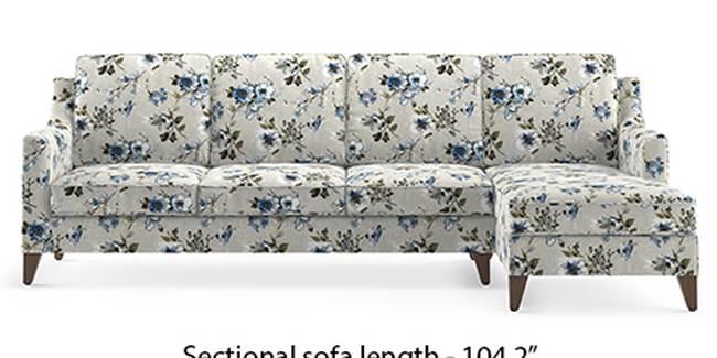 Abbey Sofa (Fabric Sofa Material, Regular Sofa Size, Soft Cushion Type, Sectional Sofa Type, Sectional Master Sofa Component, Adrian Velvet)