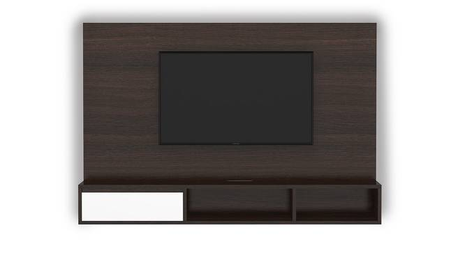 "Iwaki Swivel 59"" TV Unit (Dark Walnut Finish, Wall Mounted Unit) by Urban Ladder"