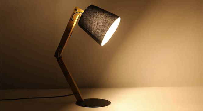 Aland Table Lamp (Black) by Urban Ladder
