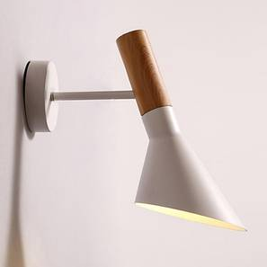 Khairy Wall Lamp (White Finish) by Urban Ladder