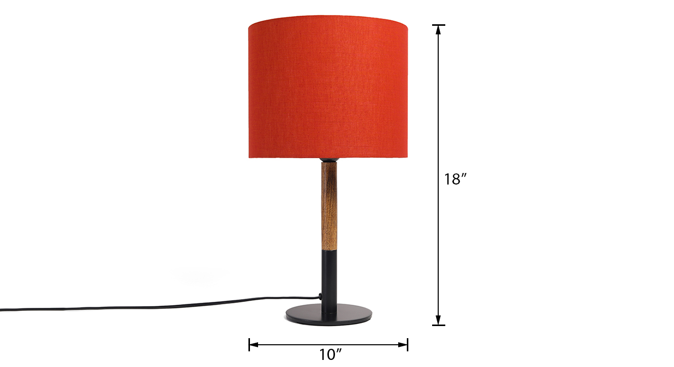 Shale table lamp 7