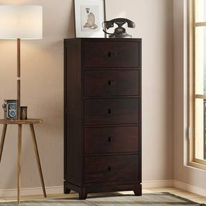 Magellan Tall Chest Of Drawer (Mahogany Finish) by Urban Ladder