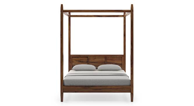 Malabar Four Poster Bed (Teak Finish, Queen Bed Size) by Urban Ladder