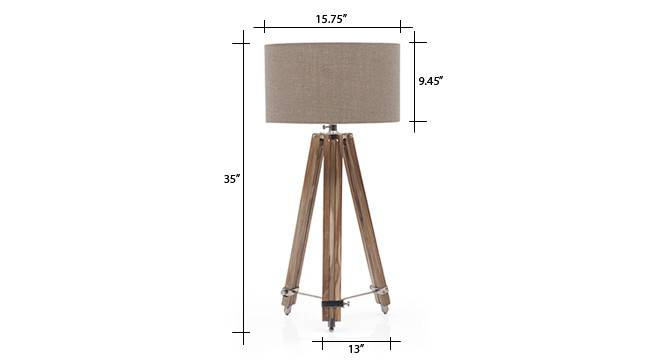 Kepler tripod floorlamp natural linen drum shade 8 img 0058 dm
