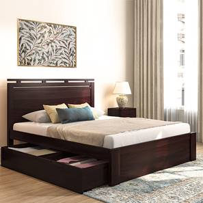 Clarence storage bed mahogany lp