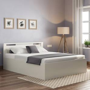 Tory Storage Bed (Queen Bed Size, White Finish) by Urban Ladder