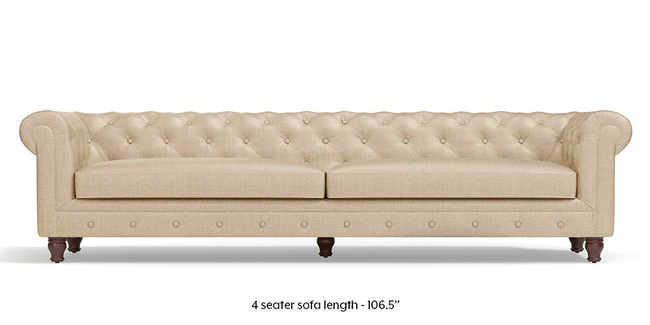 Winchester Fabric Sofa (Pearl White) (Pearl, Fabric Sofa Material, Regular Sofa Size, Regular Sofa Type)