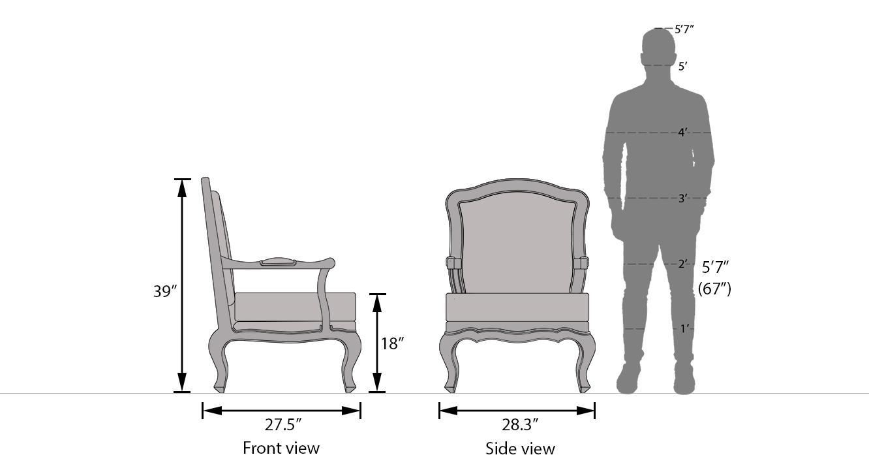 Lyon armchair 21