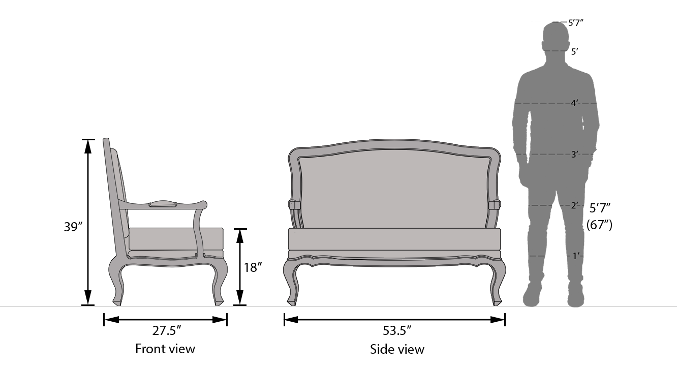 Lyon 2 seater sofa 21
