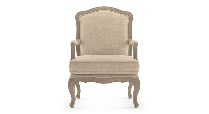 Lyon Armchair (Natural Distressed  Finish, Peony Natural) by Urban Ladder