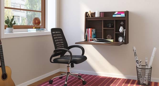 Grisham Study Table (Dark Walnut Finish) by Urban Ladder