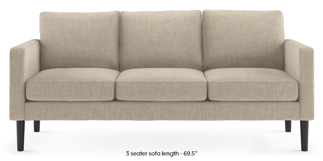 Liverpool Sofa (Beige) (2-seater Custom Set - Sofas, None Standard Set - Sofas, Beige, Fabric Sofa Material, Regular Sofa Size, Regular Sofa Type)