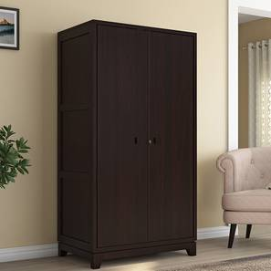 Magellan Wardrobe (Mahogany Finish) by Urban Ladder