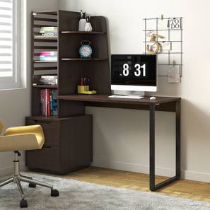 Sidney Study Table (Wenge Finish) by Urban Ladder