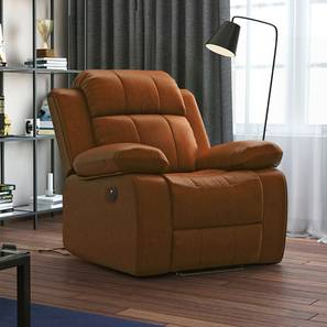 Robert recliner tan motorized replace lp